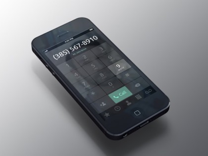 iPhone Dialer