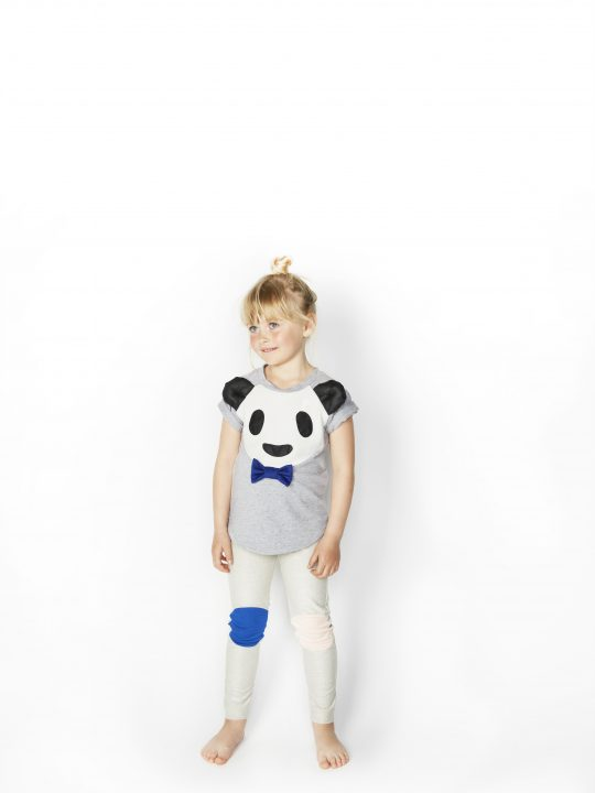 SS16 Bamboo Boy T-shirt, Happy Legs Leggings