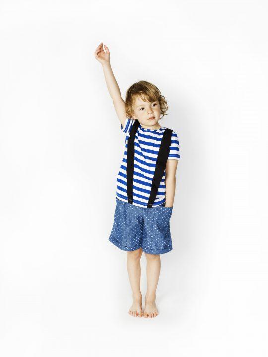 SS16 Norman T-shirt, Justin Shorts