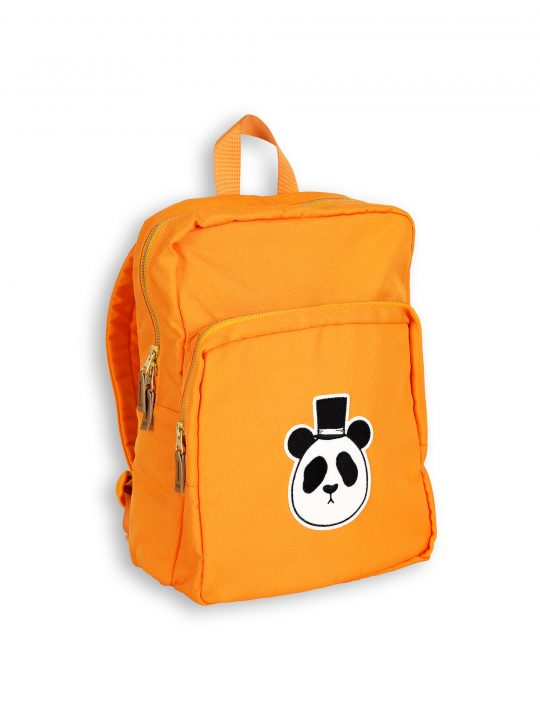 1676015528 mini rodini panda backpack orange 1_lewardrobe