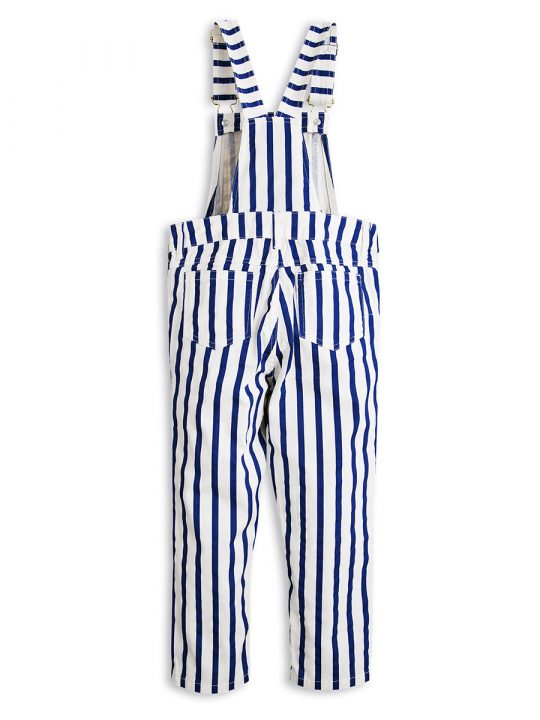 1713015060 2 mini rodini stripe dungaress blue