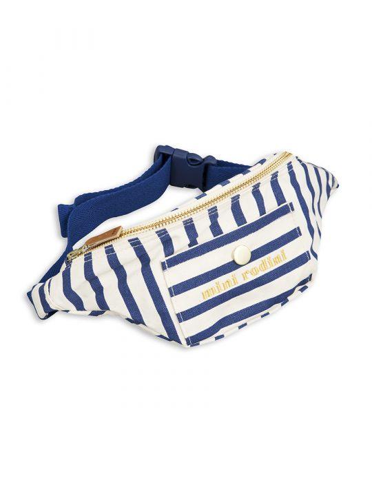 1716010660 1 mini rodini stripe bum bag blue