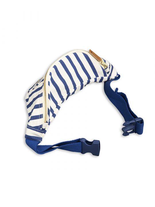 1716010660 2 mini rodini stripe bum bag blue
