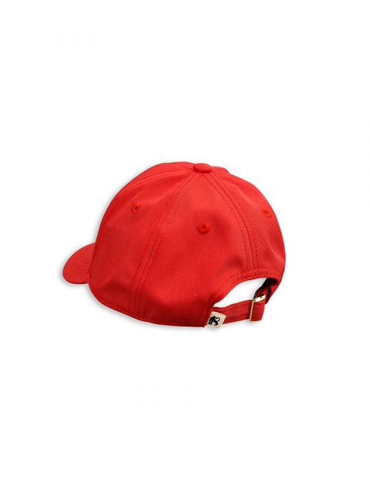 1716514442 2 mini rodini unicorn emb cap red