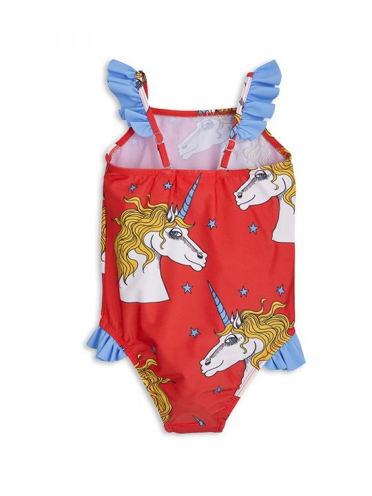 1718010342 2 mini rodini unicorn star wing swimsuit red