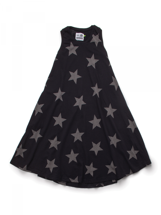 360-MAXI-STAR-DRESS-BLACK