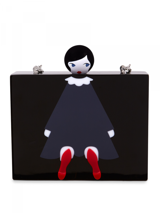 LULU DOLL FACE CHLOE CLUTCH