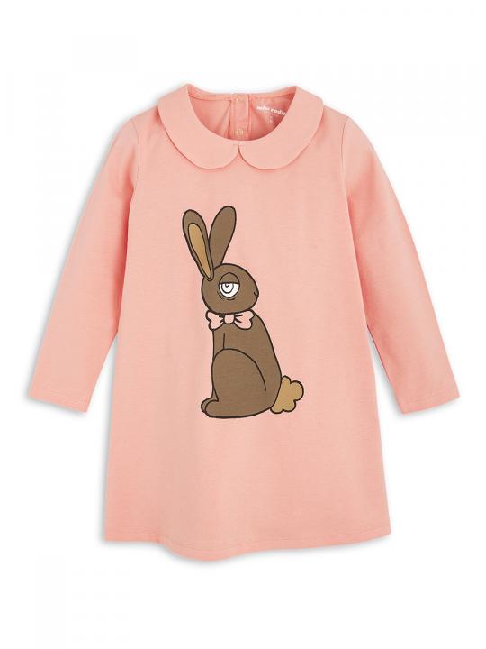 1775012633 1 mini rodini rabbit sp collar dress pink
