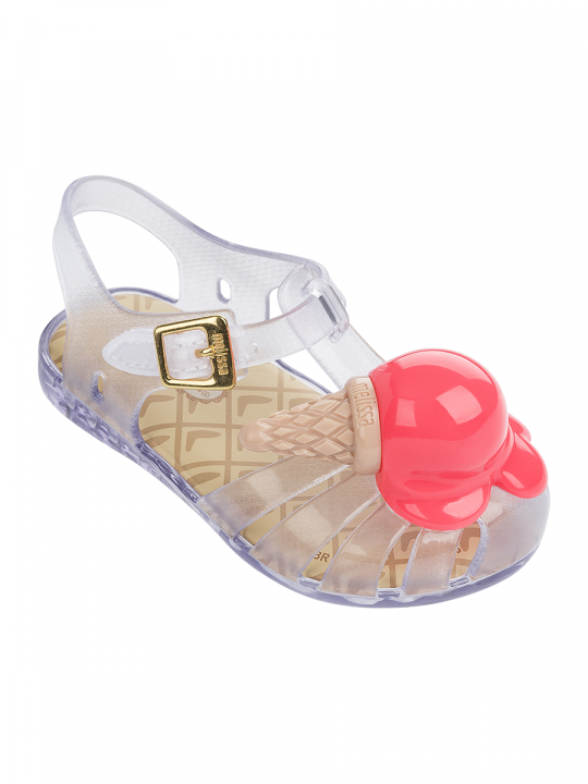 Mini Aranha Ice Cream Clear_Neon_lewardrobe