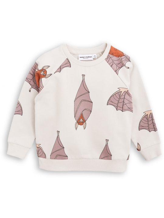 1772011096 1 mini rodini bats sweatshirt light grey