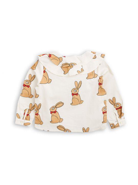 1772013111 2 mini rodini rabbit woven blouse offwhite