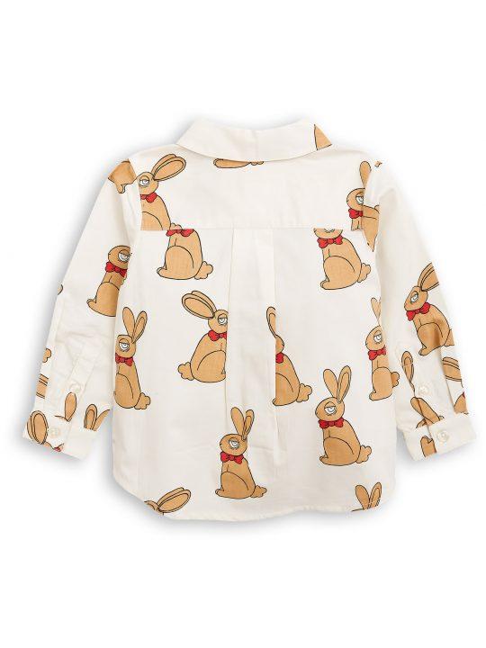 1772013211 2 mini rodini rabbit woven shirt offwhite