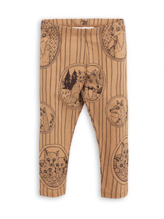 1773013316 1 mini rodini fox family leggings brown