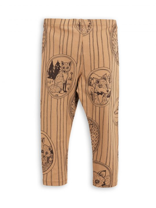 1773013316 2 mini rodini fox family leggings brown
