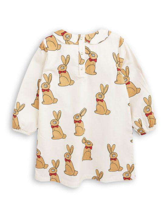 1775011811 2 mini rodini rabbit woven dress off white