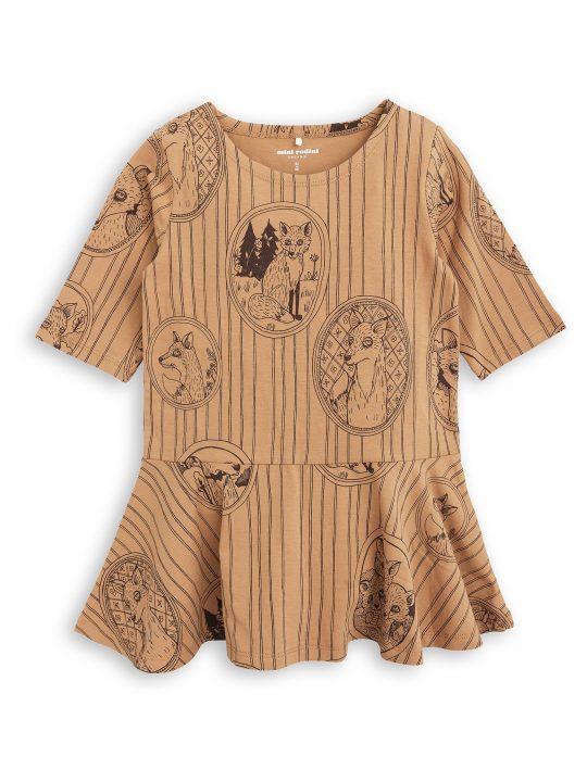 1775012316 1 mini rodini fox family dress brown