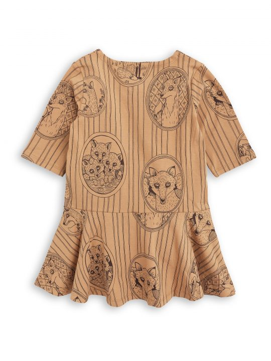 1775012316 2 mini rodini fox family dress brown