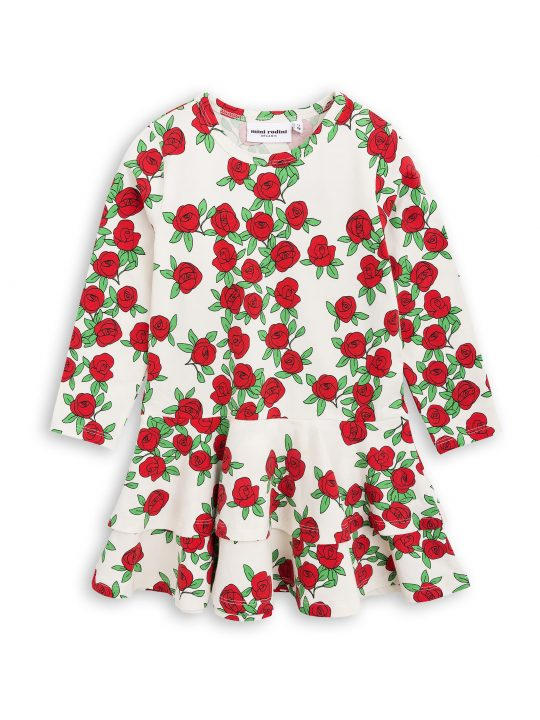 1775012811 1 mini rodini rose ls frill dress offwhite