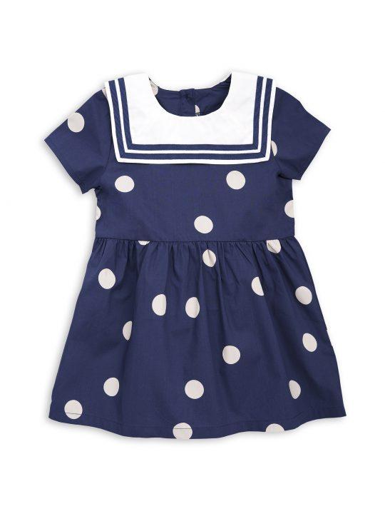 1815010667 1 dot woven sailor dress navy