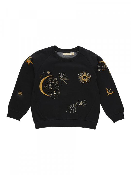 Babs Sweatshirt Peat, Galaxy Emb_soft_gallery_lewardrobe