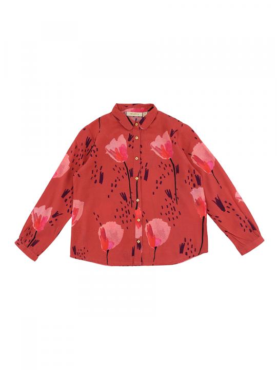 Jenna Shirt Faded Rose, AOP Tulip_soft_gallery_lewardorbe