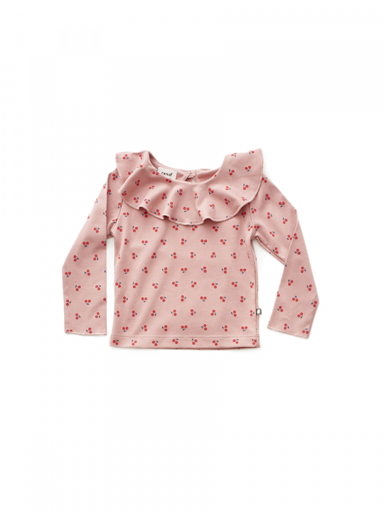 ruffle_collar_tee_dark_pink_cherries_oeufnyc_lewardrobe