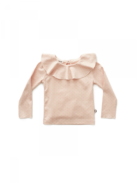ruffle_collar_tee_pink_rose_dots_oeufnyc_lewardrobe