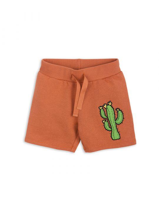 1823011326 1 mini rodini donkey cactus sweatshorts orange