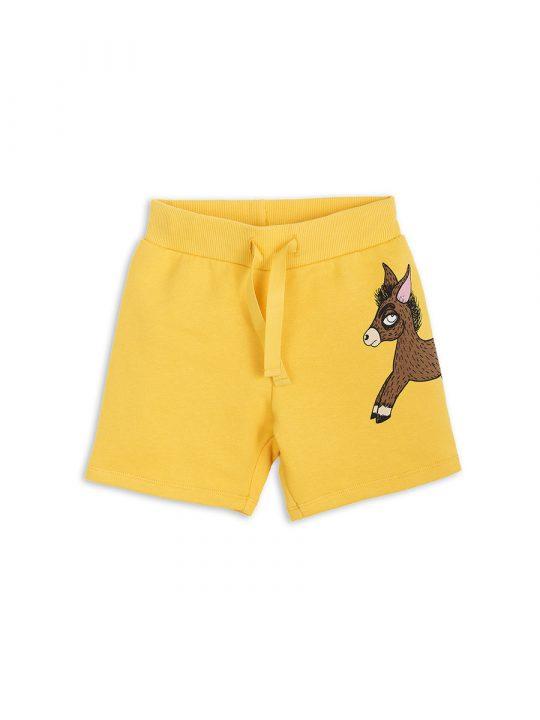 1823016123 1 mini rodini donkey sp sweatshorts yellow
