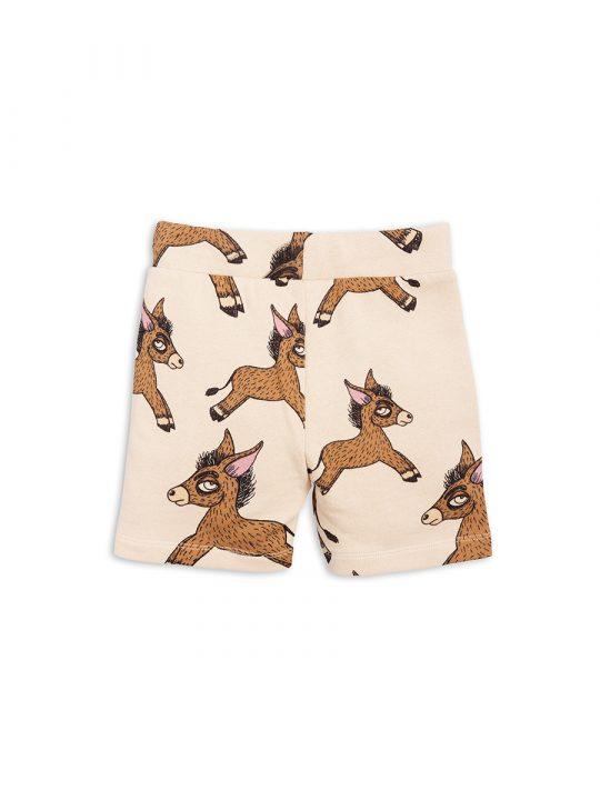 1823018513 2 mini rodini donkey aop sweatshorts beige