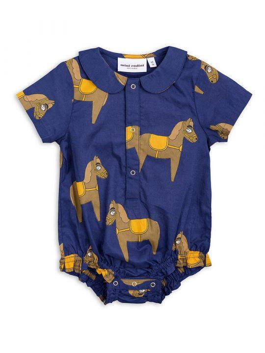 1824010067 1 mini rodini horse woven body navy