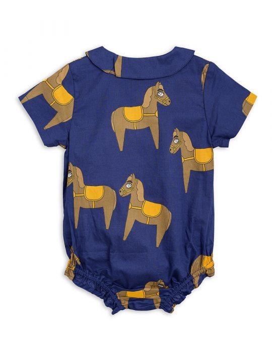 1824010067 2 mini rodini horse woven body navy