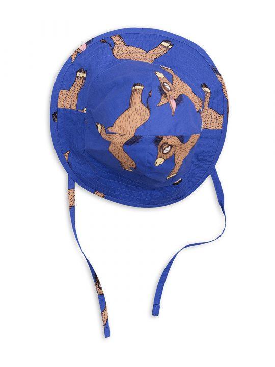 1826511860 1 mini rodini donkey sun hat blue