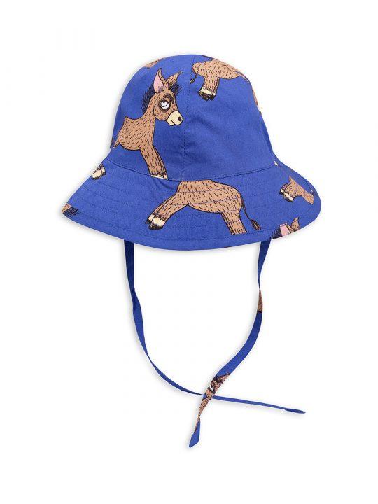 1826511860 2 mini rodini donkey sun hat blue