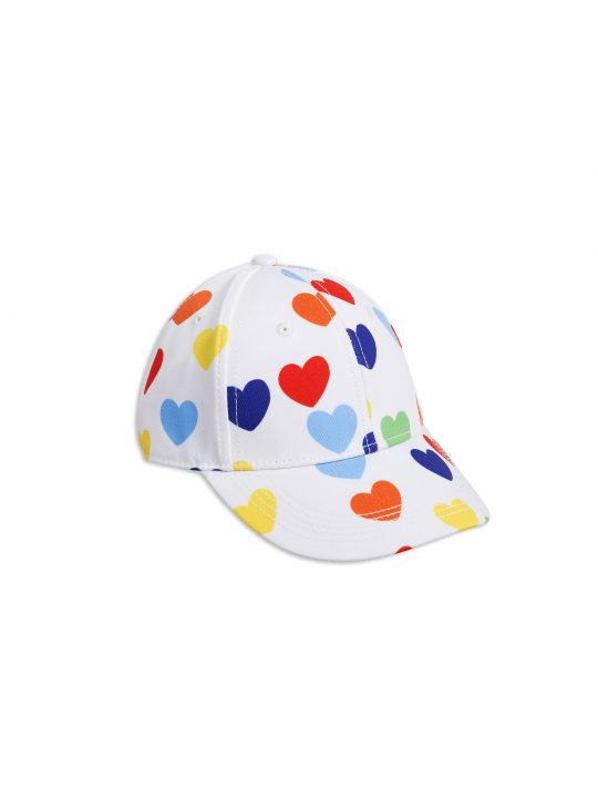 1866510010-1-mini-rodini-rainbow-love-cap-white