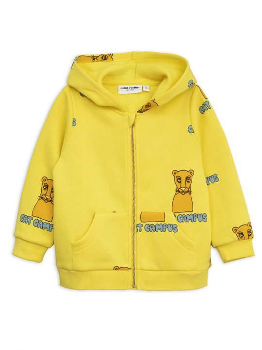 1872015923-1-mini-rodini-cat-campus-zip-hood-yellow