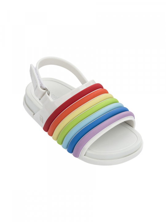 Mini_Beach_Slide_Rainbow_White_mini_melissa_lewardrobe