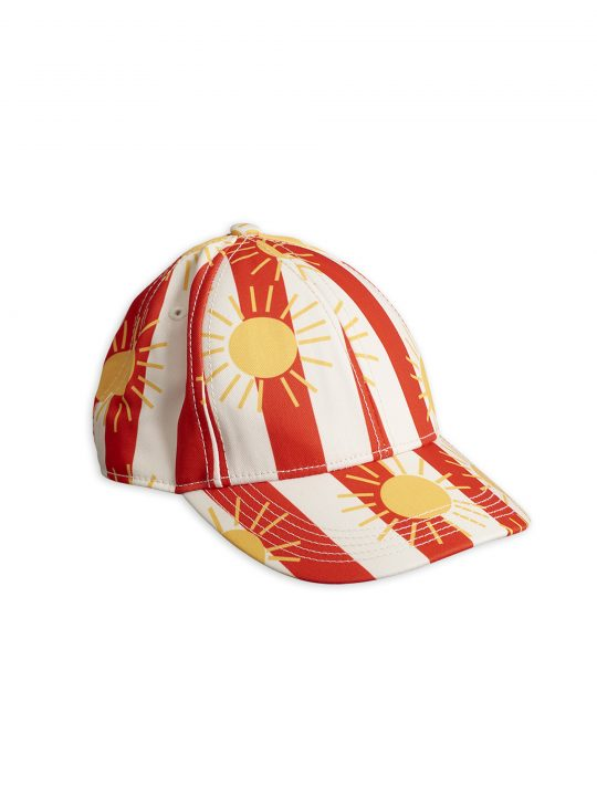 1966510042-1-mini-rodini-sun-stripe-cap-red