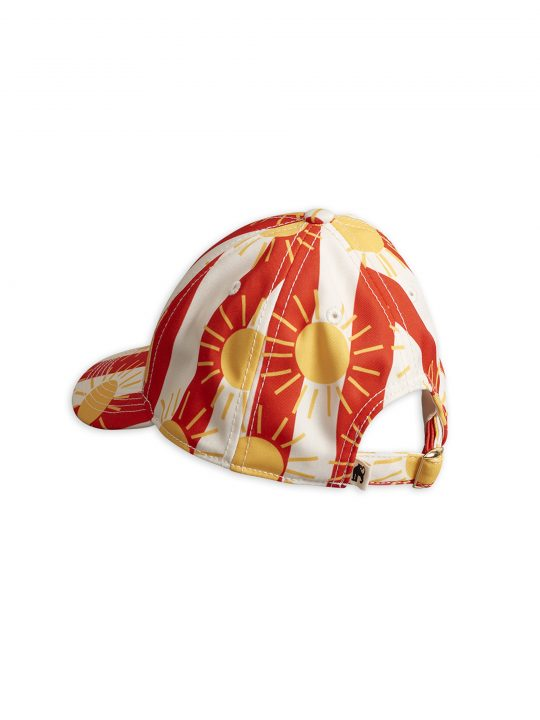 1966510042-2-mini-rodini-sun-stripe-cap-red