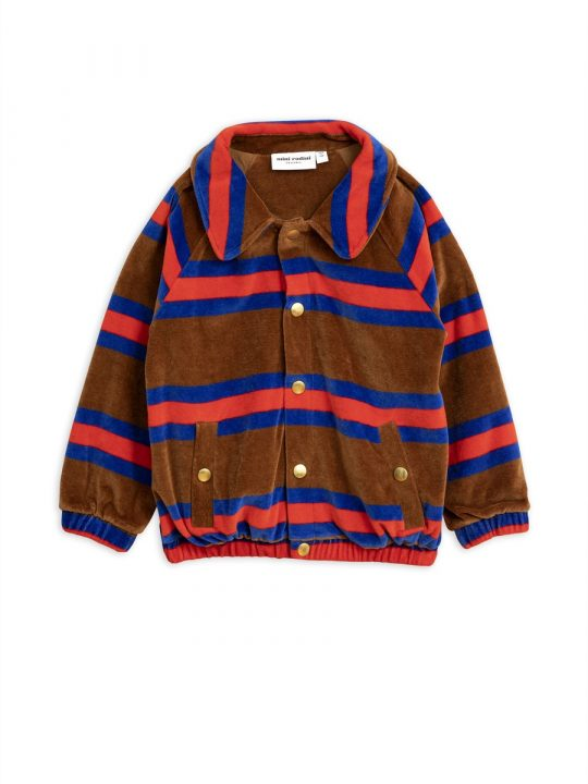 1972017516-1-mini-rodini-velour-stripe-jacket-brown