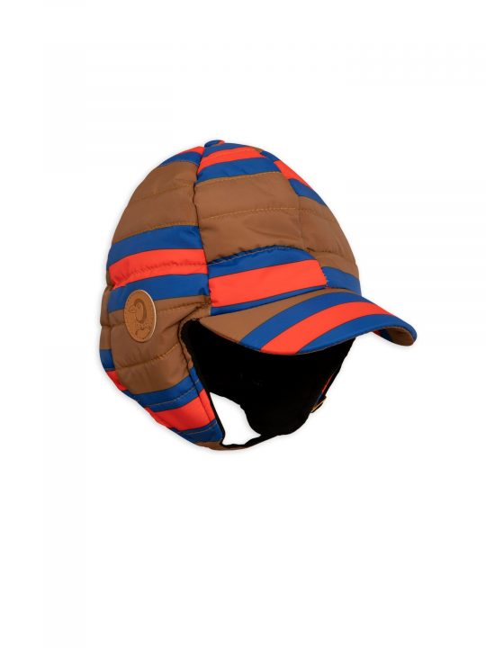 1976511216-1-mini-rodini-insulator-stripe-cap-brown