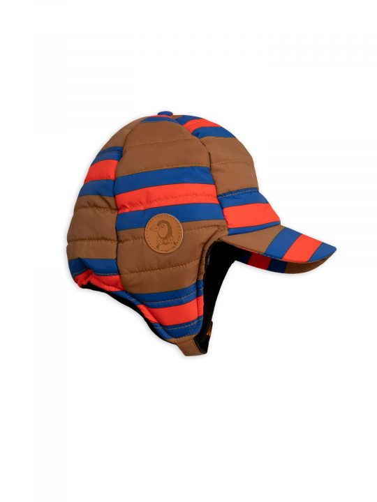 1976511216-2-mini-rodini-insulator-stripe-cap-brown