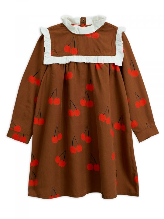 1975011016-1-mini-rodini-cherry-woven-frill-dress-brown